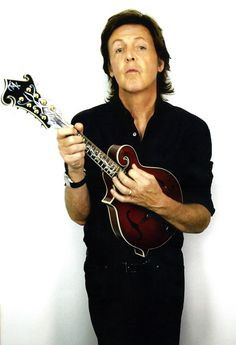 PaulMcCartney with Mandolin...
