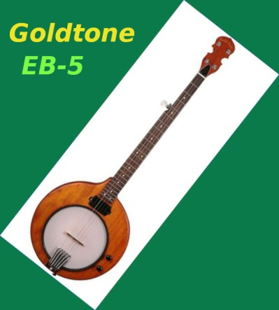 GOLDTONE EB-5 ELECTRIC MOUNTAIN BANJO
